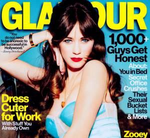 Zooey Deschanel, femme fatale d'Hollywood dans Glamour : ''j'ai envie d'etre une fucking feministe !''