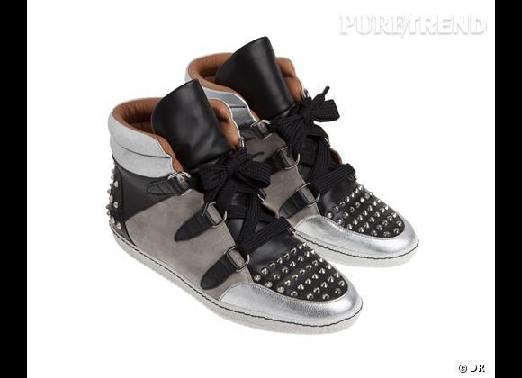 Fashion obsession : des baskets montantes hype Sneakers Albatorock, Sandro, 345 €