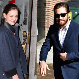 Katie Holmes et Jake Gyllenhaal, le nouveau couple d'Hollywood ?