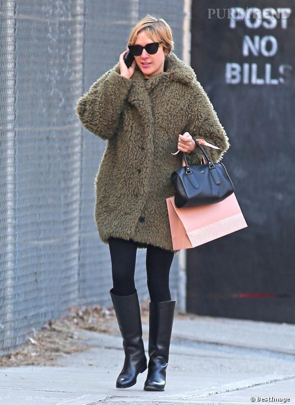 Chloë Sevigny dans les rues de New York.