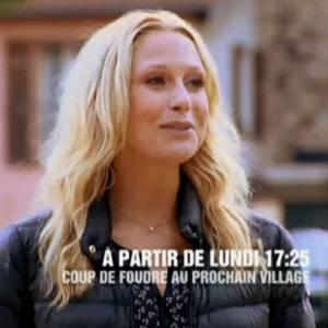 """À partir d'aujourd'hui elle présente """"Coup de Foudre au prochain village"""" sur TF1."""