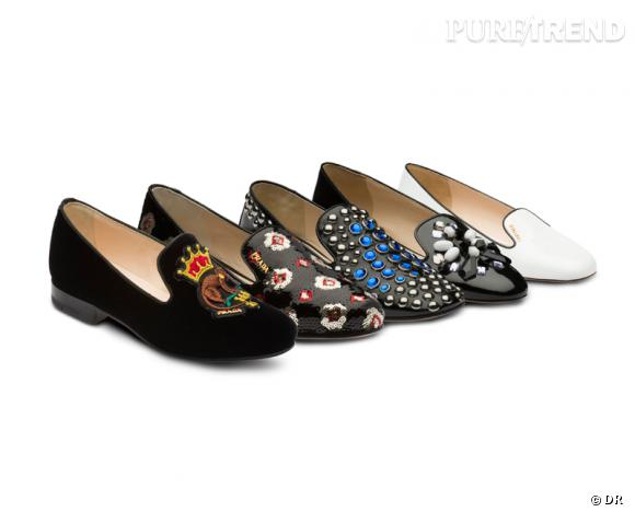 Zoom it-shoes : les nouveaux slippers Prada