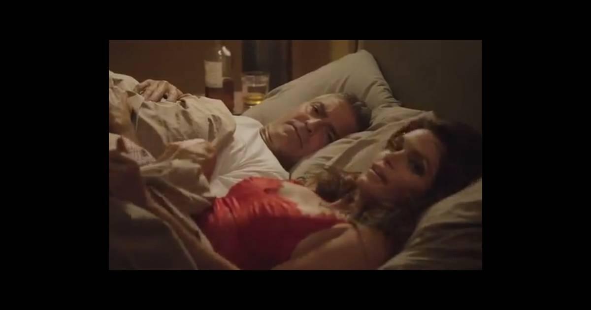 george clooney et cindy crawford surpris au lit par le mari du mannequin puretrend. Black Bedroom Furniture Sets. Home Design Ideas