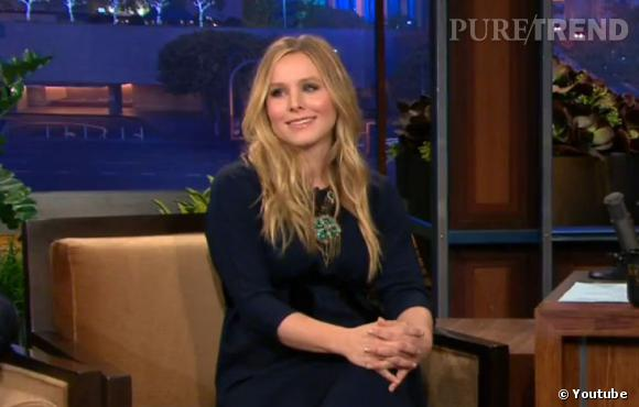 Kristen Bell parle enfin de sa grossesse à la télévision, et c'est le Tonight Show qu'elle a choisi pour ça.