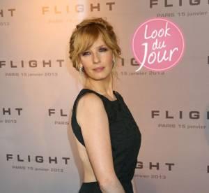Kelly Reilly, l'art du glamour a l'anglaise pour la promo de Flight
