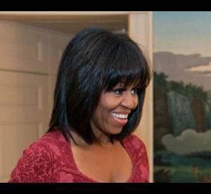 Michelle Obama : nouvelle coupe, elle se met a la frange !