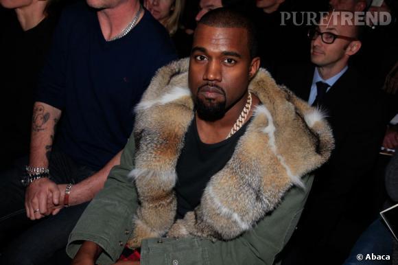 Kanye West n'allait pas rater le défilé Louis Vuitton !
