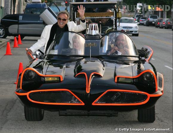 Le créateur de la Batmobile, George Barris, a finalement vendu la Batmobile.