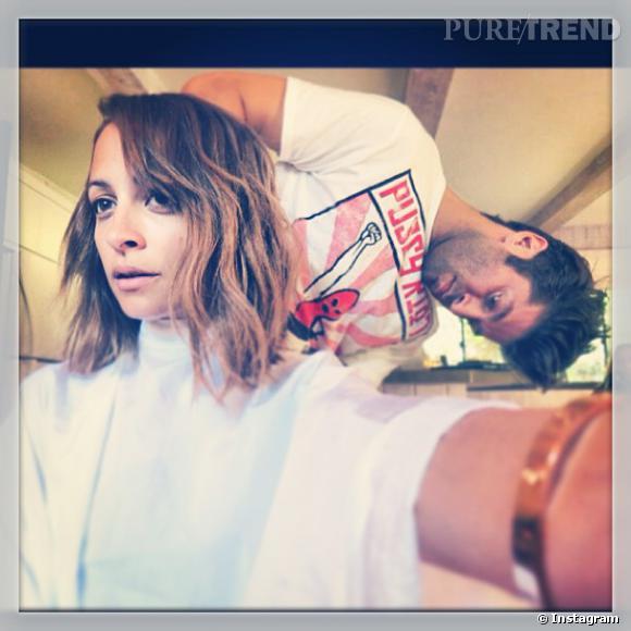 Nicole Richie dévoile sa nouvelle coiffure.