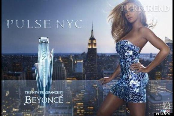 La campagne du nouveau parfum de Beyoncé, Pulse NYC.