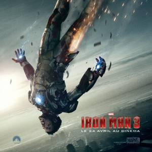 La nouvelle affiche d'Iron Man 3
