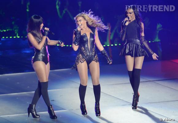 Malgré la participation de Kelly Rowland et Michelle Williams, il faut avouer que c'est Beyoncé qui a véritablement enchanté le public.