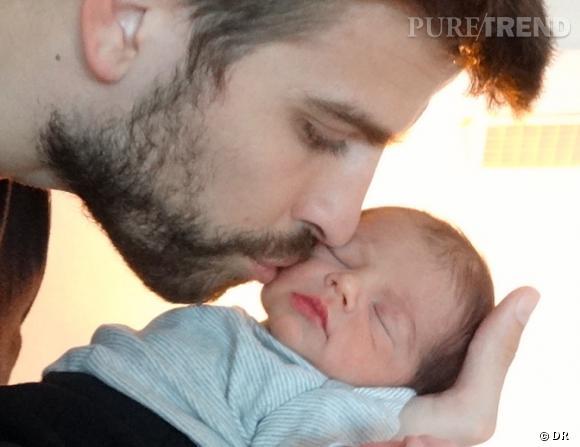 Gérard Piqué et son fils Milan... Une photo prise par Shakira.