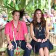 Kate Middleton en vacances avec le Prince William sur l'île Moustique ? C'est en tous cas ce que rapporte le tabloid le  Sun .