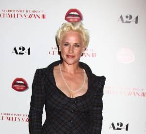 """Patricia Arquette, drame sur tapis rouge lors de la première de """"A Glimpse Inside the Mind of Charles Swan III"""" à Los Angeles le 4 février 2013. Elle pique sa tenue à Helena Bohnam Carter, un fiasco."""