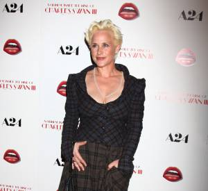 """Patricia Arquette, drame sur tapis rouge lors de la première de """"A Glimpse Inside the Mind of Charles Swan III"""" à Los Angeles le 4 février 2013. Où est donc passée la bombe de """"True Romance"""" ?"""