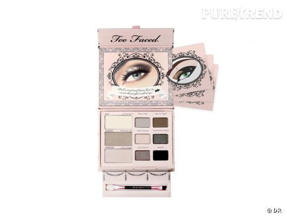 Naked Eye palette de Too Faced, 34 €, en exclu chez Sephora