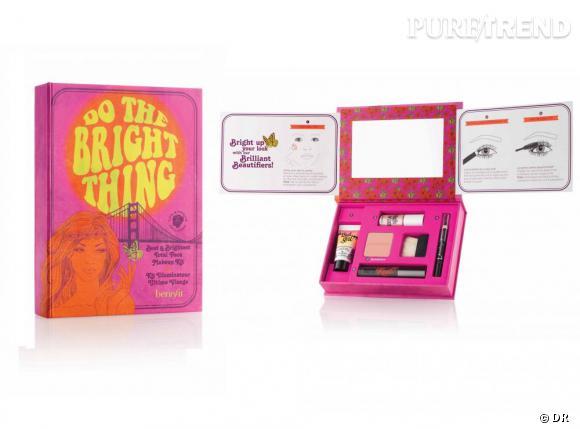 "Kit ""Do the Bright Thing"" de Benefit, 34 € (chez Sephora)"