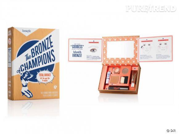 """Kit """"The Bronze of Champions"""" de Benefit, 34 € (chez Sephora)"""