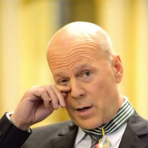 Bruce Willis, un gros dur à la larme facile.