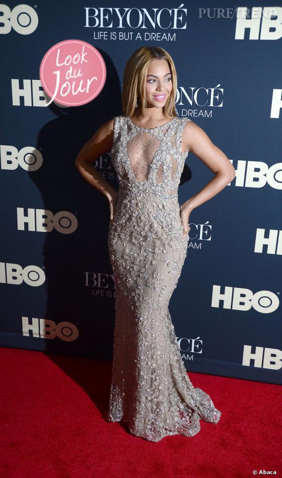 Beyoncé à la première de son documentaire HBO Life is but a dream à New York.