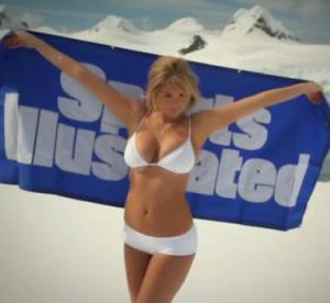 Kate Upton : topless et morte de froid pour Sports Illustrated Swimsuit Issue 2013