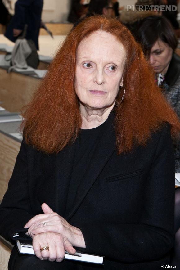Grace Coddington chez Reed Krakoff.