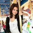"""Selena Gomez, star de la série Disney """"Les Sorciers de Waverly Place"""" en 2007."""