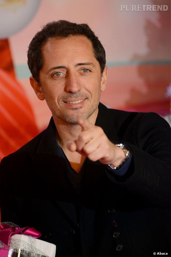Gad Elmaleh a gagné 2,1 millions d'euros en 2012.