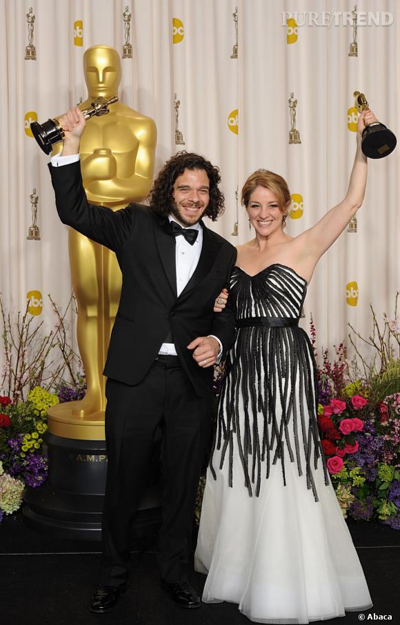"""Sean Fine et Andrea Nix Fine remportent le prix du meilleur court-métrage documentaire avec """"Inocente""""."""