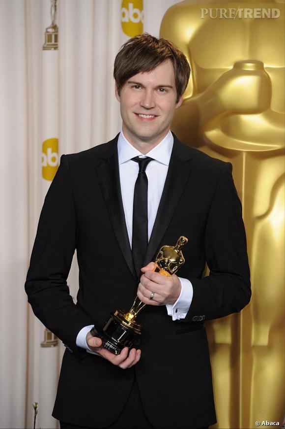 """Shawn Christensen remporte l'Oscar du meilleur court métrage de fiction pour """"Curfew""""."""