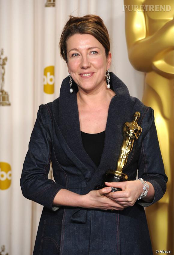 """Jacqueline Durran repart avec l'Oscar des meilleurs costumes pour """"Anna Karenine""""."""