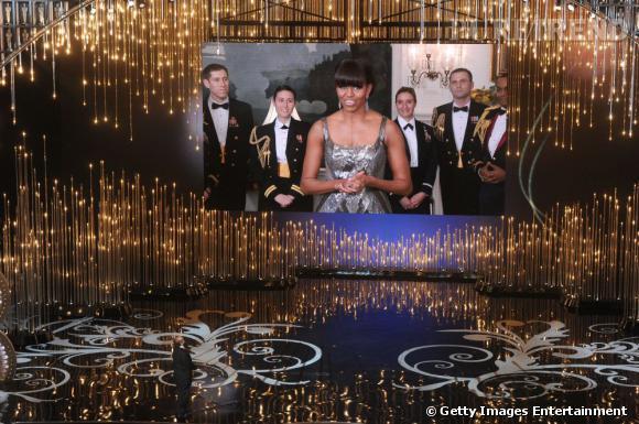 Michelle Obama est le binome virtuel de Jack Nicholson pour remettre le prix du meilleur film.