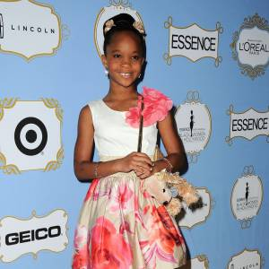 Quvenzhane Wallis, à seulement 9 ans elle affiche déjà un style bien personnel.