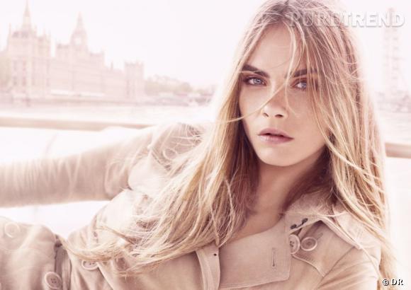 Le deuxième visuel de campagne fait la part belle au visage expressif de Cara Delevingne.