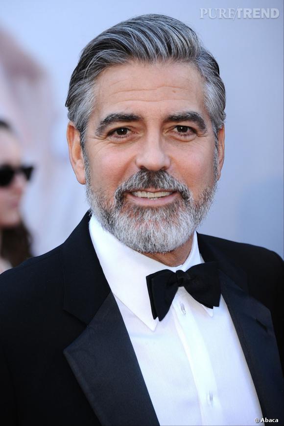 Le grisonnant George Clooney obtient un honorable 6,77 sur 10.