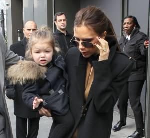 Victoria Beckham : une collection de chaussures a 1800 euros pour sa fille Harper