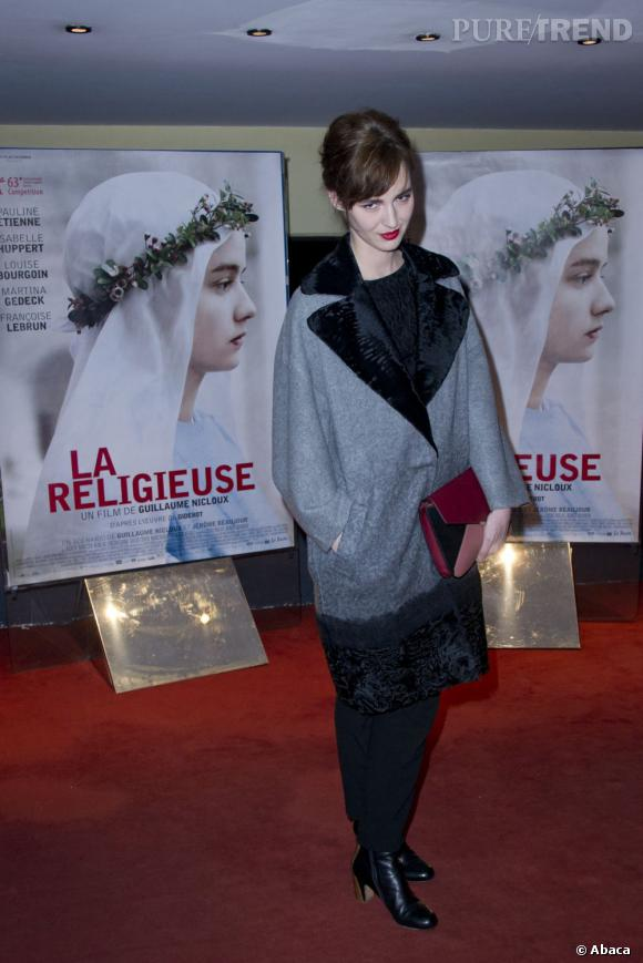 Louise Bourgoin, la jolie frenchie est ravissante.