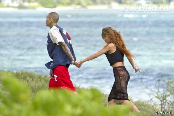 Rihanna se mariera-t-elle en juillet avec Chris Brown ? Selon certaines rumeurs, elle aimerait se marier en maillot de bain...