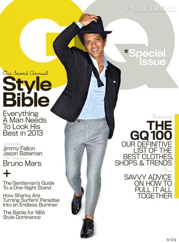 Bruno Mars, confidences pour confidences pour le magazine GQ avril 2013.