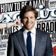 Le flop couverture de magazine :  La Une d'Esquire a beau être parfaitement travaillé, on regrette l'expression un peu enfatine de Bradley.