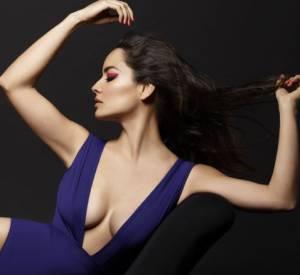 Bérénice Marlohe, photographiée par Karl Lagerfeld pour la nouvelle Eres Sunwear.