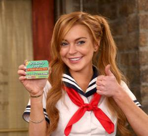 Lindsay Lohan : ecoliere sexy pour Charlie Sheen dans Anger Management