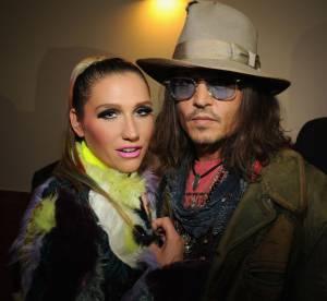 Kesha, folle de Johnny Depp : ''on a fait l'amour avec les yeux !''