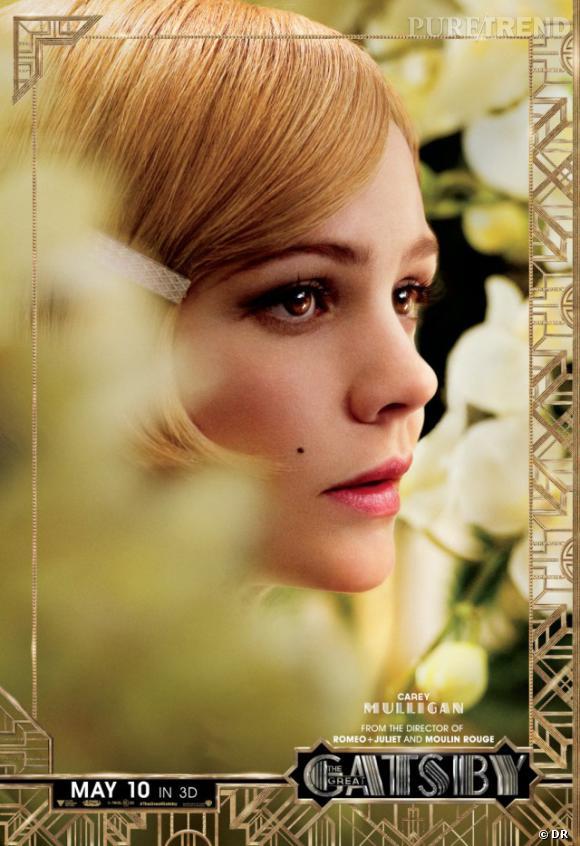 """Carey Mulligan joue Daisy Buchanan dans """"Gatsby le Magnifique""""."""