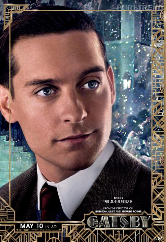 "Tobey Maguire, alias Nick Carraway dans ""Gatsby le Magnifique""."