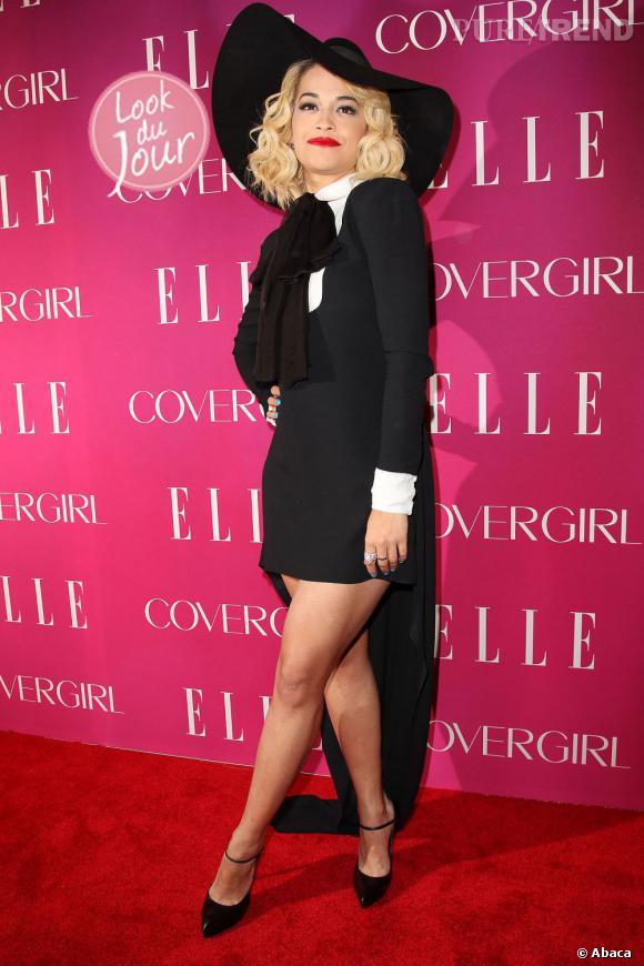 Rita Ora à la soirée Elle Women in Music 2013 à New York.