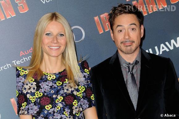 Gwyneth Paltrow et Robert Downey Jr, un joli duo sur tapis rouge.