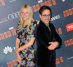 Iron Man 3 : Gwyneth Paltrow et Robert Downey Jr a Paris, on y etait !