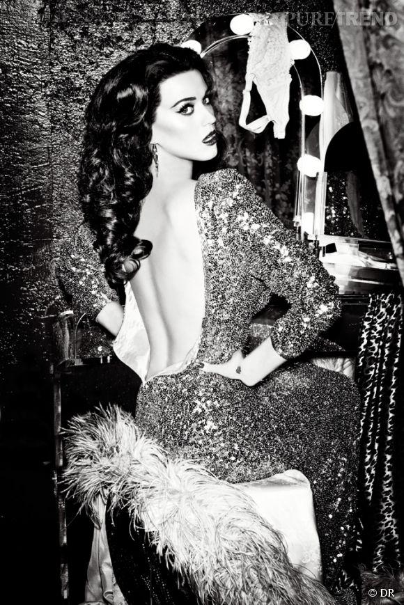 Katy Perry dans la dernière campagne GHD.